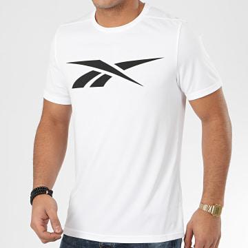 Reebok - Tee Shirt Wor Poly Graphic FK6181 Blanc