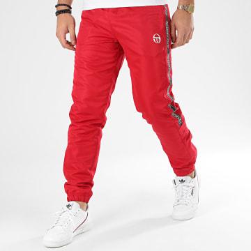 Pantalon Jogging A Bandes Fosh 38663 Rouge