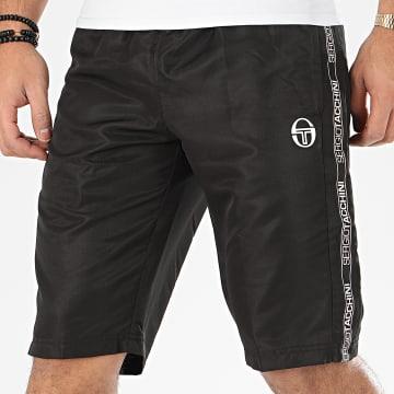 Short Jogging A Bandes Fosh 38758 Noir