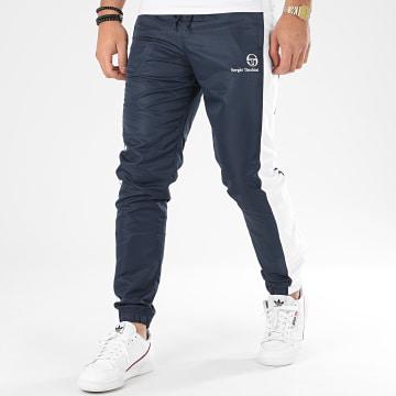 Pantalon Jogging A Bandes Frassino 38723 Bleu Marine Blanc