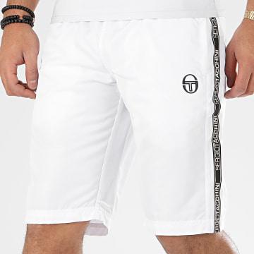 Short Jogging A Bandes Fosh 38758 Blanc