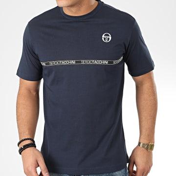 Sergio Tacchini - Tee Shirt Fosh 38765 Bleu Marine