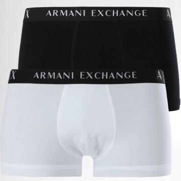 Armani Exchange - Lot De 2 Boxers 956001-CC282 Blanc Noir