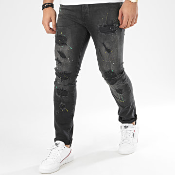 GRJ Denim - Jean Slim 14036 Noir