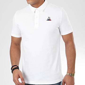 Le Coq Sportif - Polo Manches Courtes Essential N2 1921048 Blanc