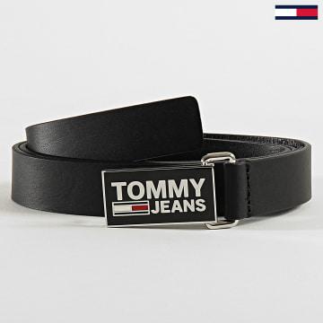 Tommy Hilfiger - Ceinture Femme Flag Belt 7846 Noir