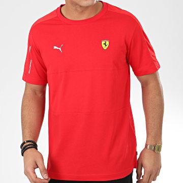 Tee Shirt Scuderia Ferrari 596143 Rouge