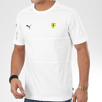 Tee Shirt Scuderia Ferrari 596143 Blanc
