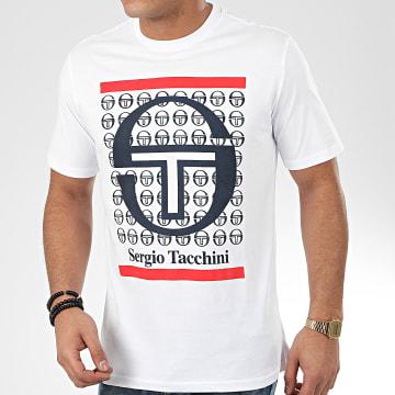 Sergio Tacchini - Tee Shirt Fiume 38726 Blanc