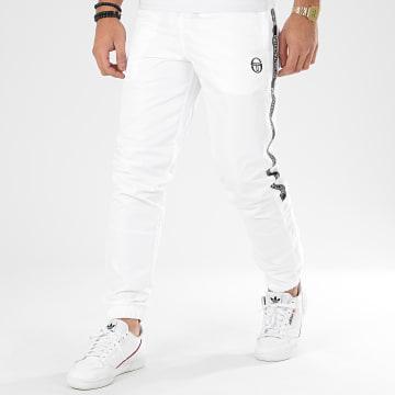 Pantalon Jogging A Bandes Fosh 38663 Blanc