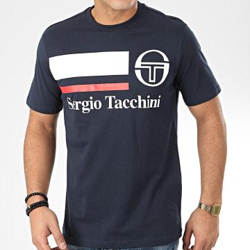 Sergio Tacchini - Tee Shirt Falcade 38722 Bleu Marine