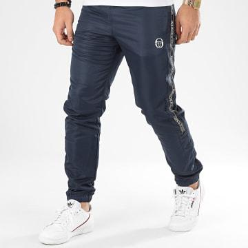 Pantalon Jogging A Bandes Fosh 38663 Bleu Marine