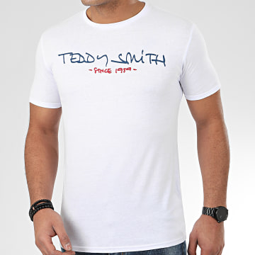 Teddy Smith - Tee Shirt Ticlass Basic Blanc