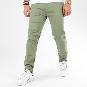 Classic Series - Pantalon Chino Slim SK-302 Vert Clair