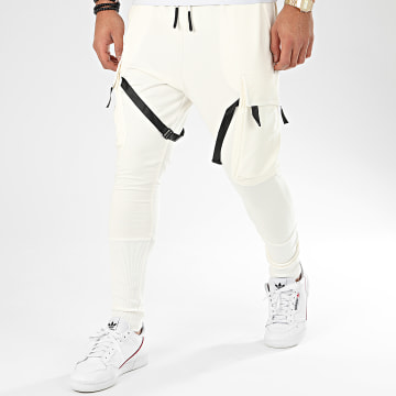 Ikao - Pantalon Jogging F664 Ecru
