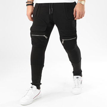 Ikao - Pantalon Jogging F-708 Noir