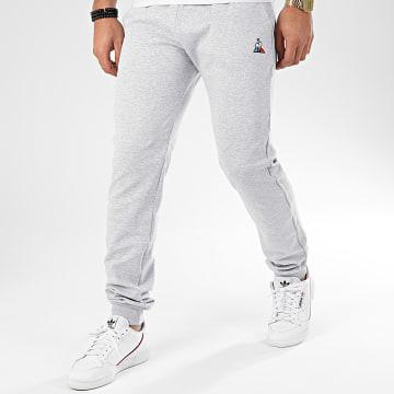 Le Coq Sportif - Pantalon Jogging Essential N1 1921054 Gris Chiné