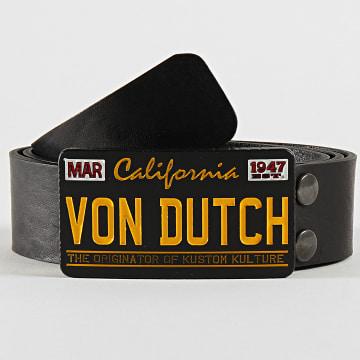 Von Dutch - Ceinture Angry Noir