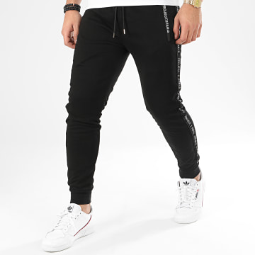 Project X - Pantalon Jogging A Bandes 2040064 Noir