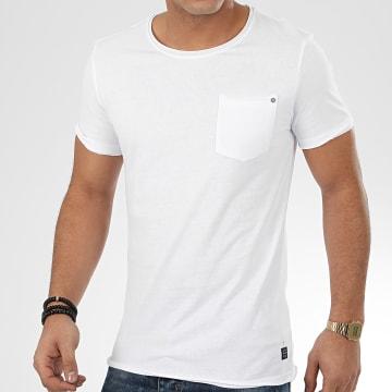 Blend - Tee Shirt Poche 20709766 Blanc