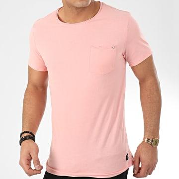 Blend - Tee Shirt Poche 20709766 Rose