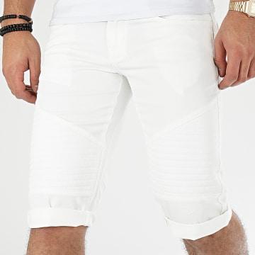 Short Jean DG-2206 Blanc