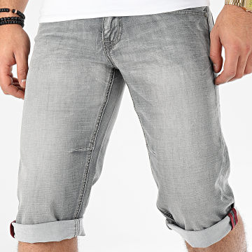 Short Jean DF2134 Gris