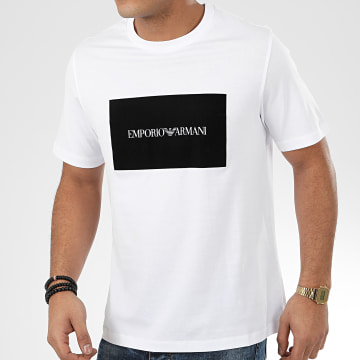 Emporio Armani - Tee Shirt 3H1TD0-1J30Z Blanc
