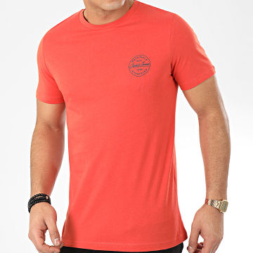 Tee Shirt Slim Langmore Chest Rouge