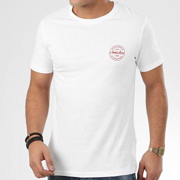 Jack And Jones - Tee Shirt Langmore Chest Blanc