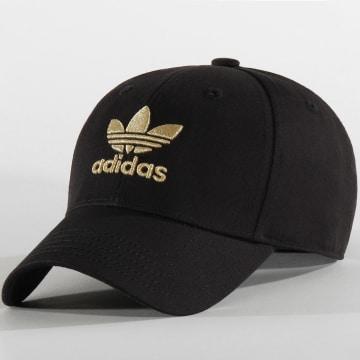 Adidas Originals - Casquette Baseball AC Gold BB FM1675 Noir Doré