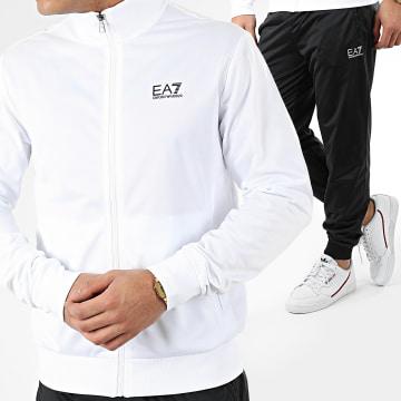 EA7 - Ensemble De Survetement 8NPV71-PJ08Z Blanc Noir