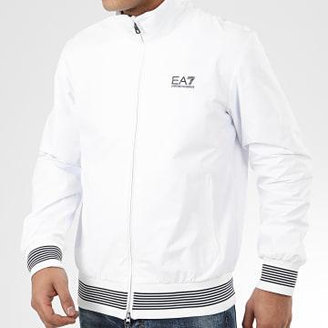 EA7 - Veste Zippée 3HPB28-PN27Z Blanc