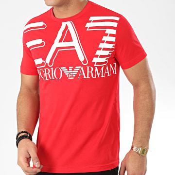 Tee Shirt 3HPT09-PJ02Z Rouge