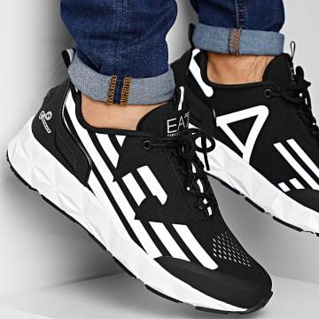 EA7 - Baskets X8X033-XCC52 Black Silver