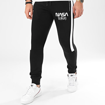 Final Club - Pantalon Jogging Japan Exploration Avec Patch 341 Noir