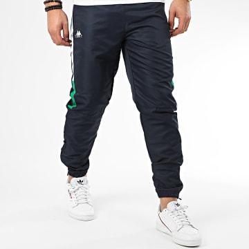 Pantalon Jogging A Bandes Ipeu 3112E7W Bleu Marine