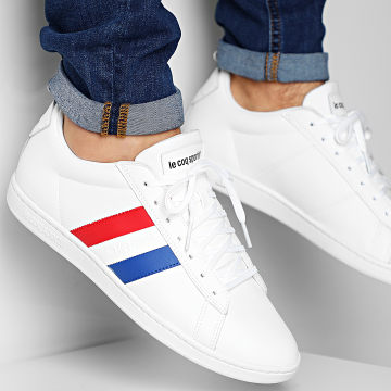 Le Coq Sportif - Baskets Courtclassic Flag 2010198 Optical White