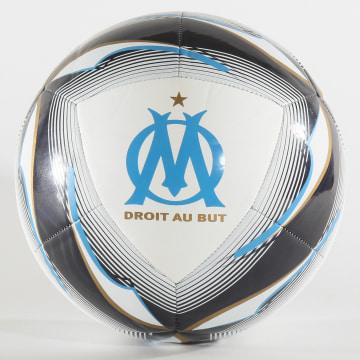 Ballon De Foot Olympique De Marseille 083412 Blanc Bleu