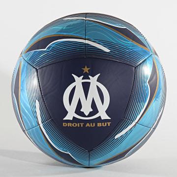 Ballon De Foot Olympique De Marseille 083412 Bleu Clair Bleu Marine