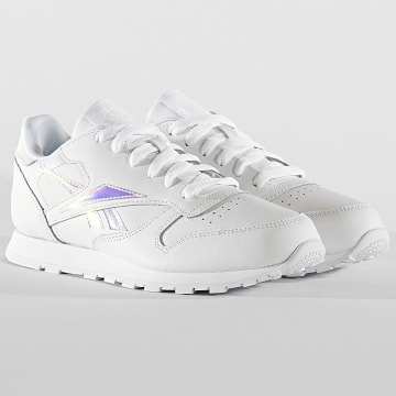 Baskets Femme Classic Leather EF3005 White White