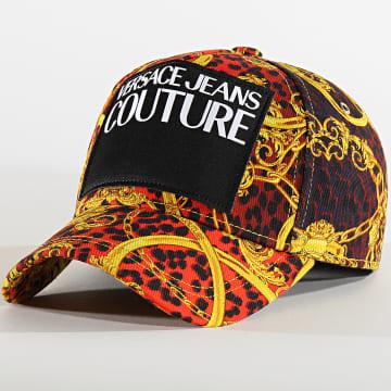 Versace Jeans Couture - Casquette E8GVAK05-S0653 Rouge Jaune Renaissance
