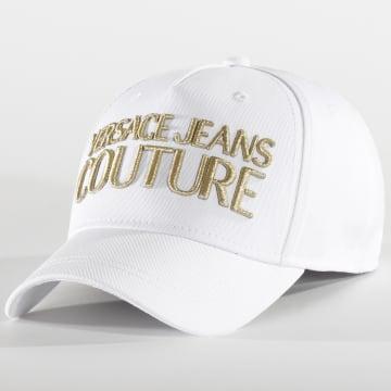 Versace Jeans Couture - Casquette E8GVAK04-65021 Blanc Doré
