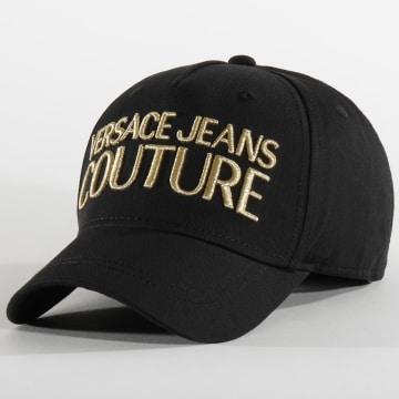 Versace Jeans Couture - Casquette E8GVAK04-65021 Noir Doré