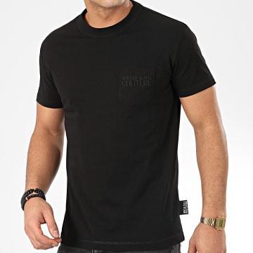 Versace Jeans Couture - Tee Shirt Poche B3GVA7TC-30319 Noir