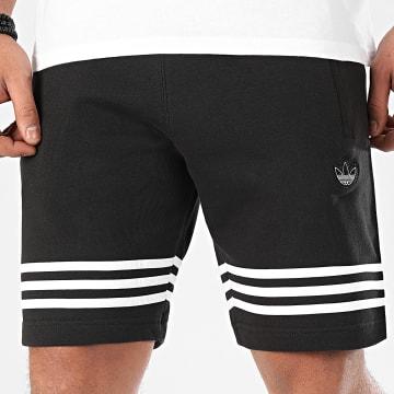Adidas Originals - Short Jogging Outline FM3877 Noir Blanc