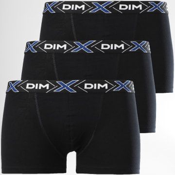 Dim - Lot De 3 Boxers D041B Noir