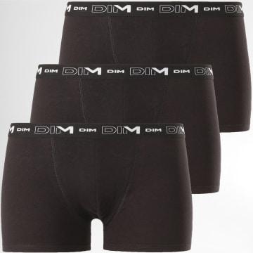 Lot De 3 Boxers D6596 Noir