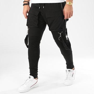 Pantalon Cargo K2255 Noir