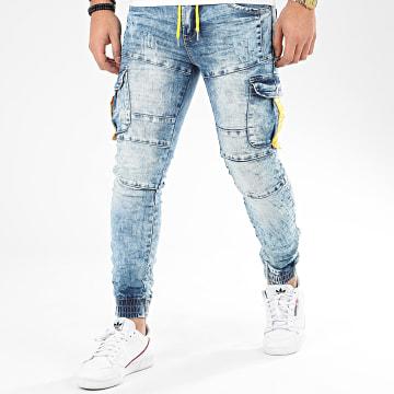 Jogger Pant E7006 Bleu Wash